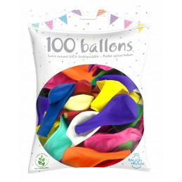 100 Ballons latex...