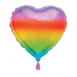 Ballon mylar 50 cm coeur...