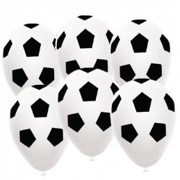 6 Ballons imprimés Ballon...