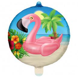 Ballon Foil 45cm  Flamant...