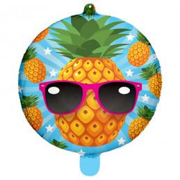 Ballon Foil 45cm  Ananas