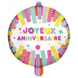 Ballon Foil 45 cm Joyeux...