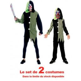 Costume clown Adultes +...