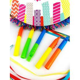 Set de 5 flûtes assorties