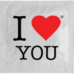 Preservatif - I LOVE YOU