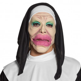 Masque visage latex Holy lips