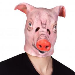 Masque latex Cochon