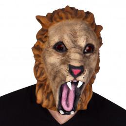 Masque latex Lion