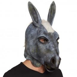 Masque visage latex Baudet...