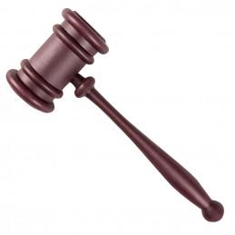Marteau de juge (27 cm)