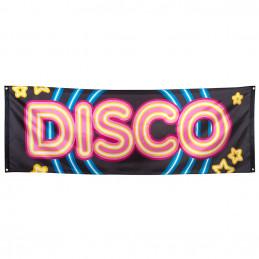 Bannière polyester Disco 74...