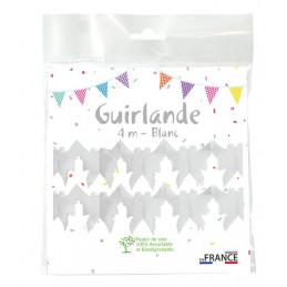 Guirlande Colombe 4m - Blanc