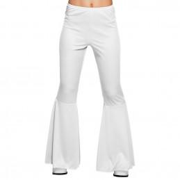 Pantalon flare blanc (M...
