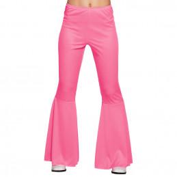 Pantalon flare rose (M...