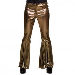 Pantalon flare or (M stretch)