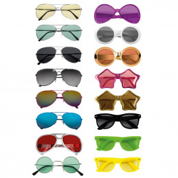 Lunettes party 16 assortis...