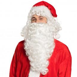 Perruque Père Noël avec barbe