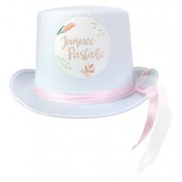 Chapeau feutre blanc...
