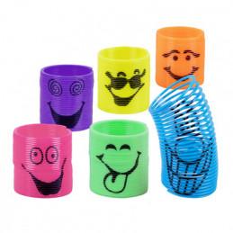 6 Slinkies souriants 6...