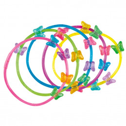 Set 5 Bracelets Papillon 5...