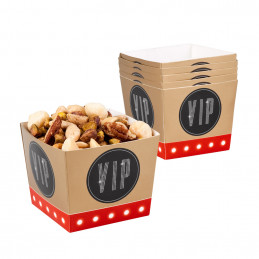 6 Bols carton VIP 40 cl