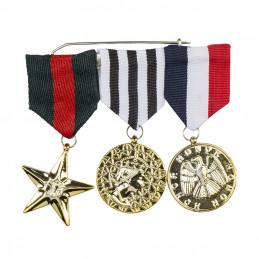 Set 3 Médailles d'honneur