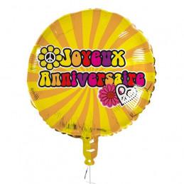 Ballon foil 45 cm Hippie...