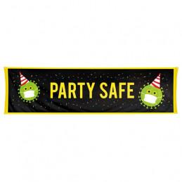 Bannière  Party safe 50 x...