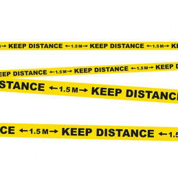 Bande PE Keep distance 15 m...