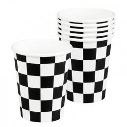 6 Gobelets carton  Racing...