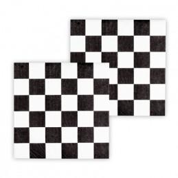 12 Serviettes papier Racing...