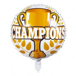 Ballon foil 45 cm Champions...