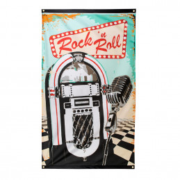 Drapeau Rock'n Roll 150 x...