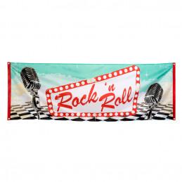 Banniere Rock'n Roll 74 x...