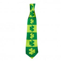 Cravate Shamrock St Patrick...
