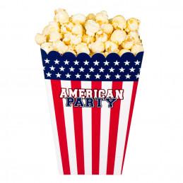 4 Bols carton AMERICAN PARTY
