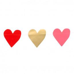 Guirlande en carton Love 2 m