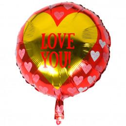 Ballon foil 'Love you!' 45 cm