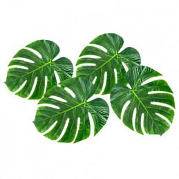 4 Feuilles de palmier...