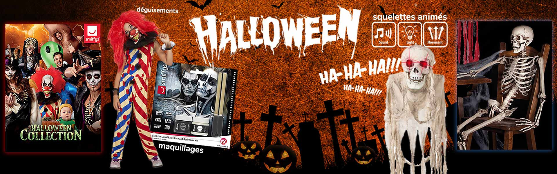 Nos produits Halloween